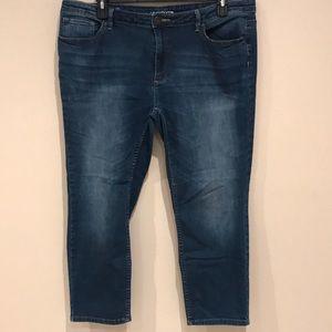 Liz Claiborne Classic Skinny Jeans (Ankle)